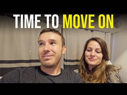 MOVING OUT! THE LAST NIGHT IN OUR AIRSTREAM RV