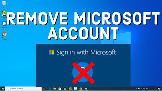 How to Delete Your Microsoft Account on Windows 10   How to Remove Microsoft Account