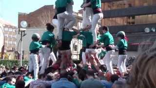 preview picture of video 'Castellers de Sabadell -  4d8   (15-03-15)'