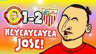 Download Video 🤣HEYEAYEAYEA JOSE! What's going on?🤣 (Man Utd vs Sevilla 1-2 Song Parody Goals Highlights) MP3 3GP MP4