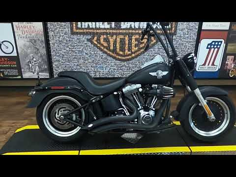 2012 Harley-Davidson Fat Boy Lo