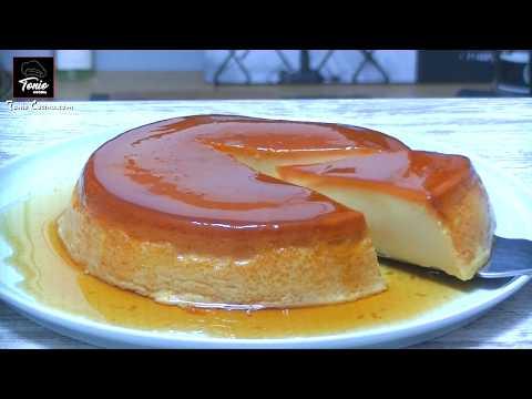 Flan de queso 🍮SIN HORNO