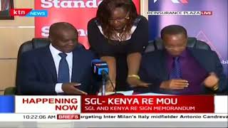 Standard Group Limited and Kenya Re partner on assisting the disabled