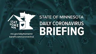 March 30: Gov. Walz & MDH coronavirus briefing