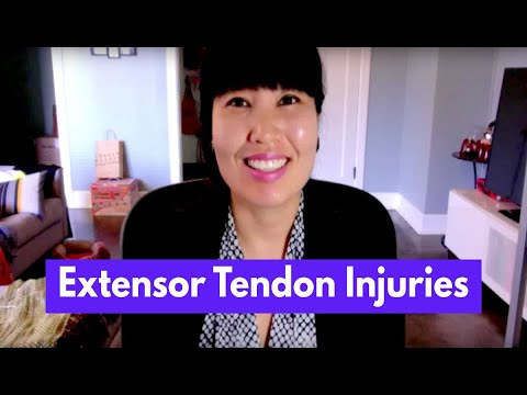Extensor Tendon Injuries & Intervention