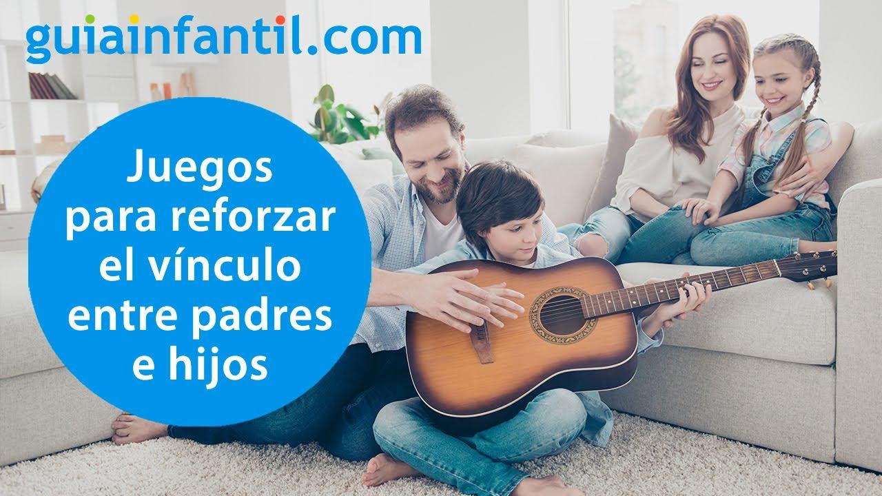 Juegos para pasar tiempo de calidad en casa con los niños y reforzar el vínculo familiar