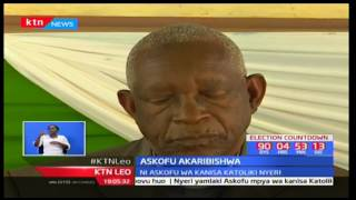 Askofu Anthony Muheria Ngugi  akaribishwa Our Lady of Consolata Nyeri