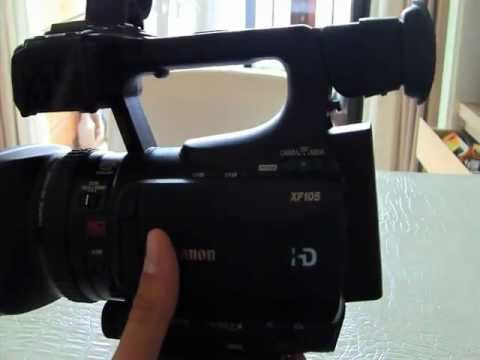 Canon XF105 Hands-On Review