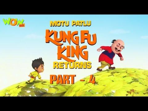 Motu Patlu Kungfu King Returns -Part 4| Movie| Movie Mania - 1 Movie Everyday | Wowkidz