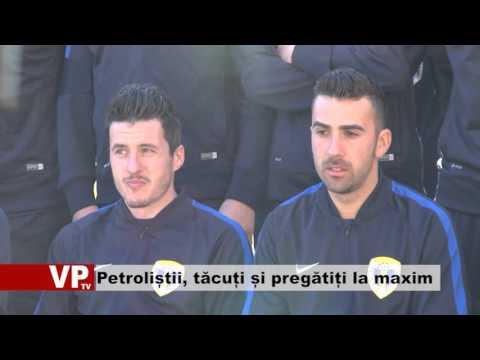 Petroliștii, tăcuți și pregătiți la maxim
