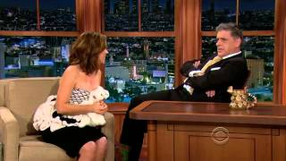 Alyssa Milano on The Late Late Show