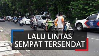 Kecelakaan di Jalan Merdeka Bogor, Lalu Lintas Sempat Tersendat