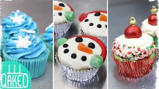 3 Easy Christmas Holiday Cupcakes!