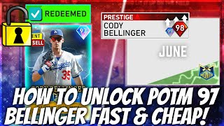 How To Complete June POTM Bellinger Fast & Cheap! Best Tips! MLB The Show 20 Diamond Dynasty