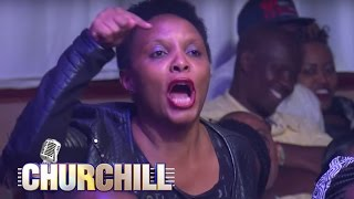 Othuol Othuol gets heckled on Churchill Show