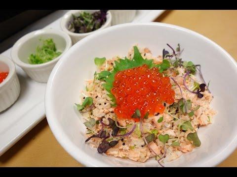 Salmon Donburi – How To Make Sushi Series