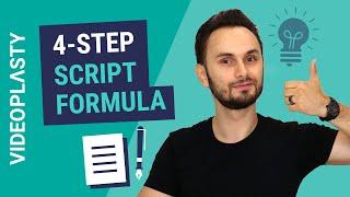"""EXPLAINER VIDEO: 4-Step """"Classic Explainer"""" Scriptwriting Formula"""