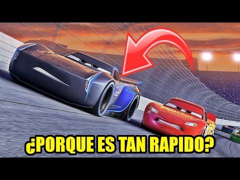 ¿PORQUE JACKSON STORM ES MAS VELOZ QUE EL RAYO MCQUEEN EN CARS 3?