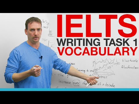 IELTS VOCABULARY - Task 1