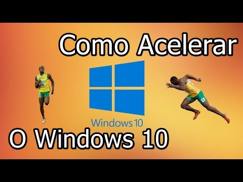 Como Acelerar o Windows 10 (2016)