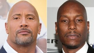 We Finally Understand What Happened With The Rock And Tyrese