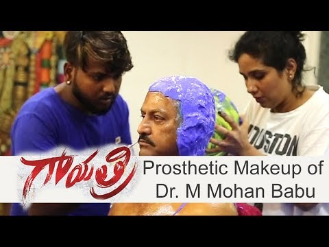 Prosthetic Makeup Making of Gayatri