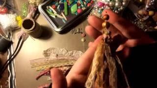 Boho Gypsy Style Tassels.