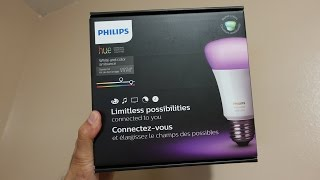 Philips Hue 3rd Gen Bulb and Starter Kit Unboxing