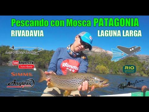 Pescando con Mosca Lago Rivadavia y Laguna Larga / Argentina, PATAGONIA, Vol.3