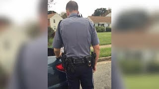Police Orders Woman To Open Her Trunk. Has No idea That she's Recording Behind His Back