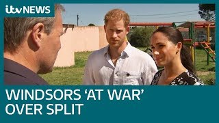 Have the cracks in Harry and Meghan's bond with the royals been visible for a while? | ITV News