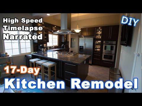 Kitchen Remodeling Timelapse Narrated