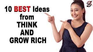 10 Best Ideas from THINK AND GROW RICH