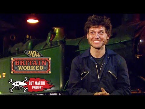Guy The Steam Train Driver | Guy Martin Proper