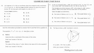Geometry Parcc Interactive Worksheet #5 8