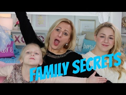 Chloe's Family Secrets! - Chloe, Christi & Clara Lukasiak