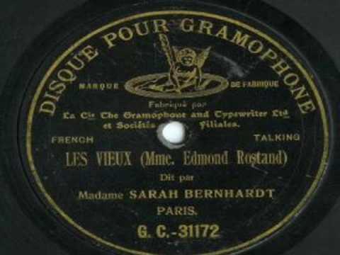 Vidéo de Sarah Bernhardt