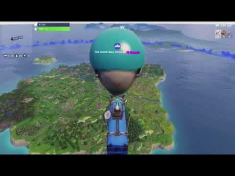 First Fortnite video gameplay