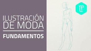Cómo Dibujar Figurines De Moda: Pose De 3/4