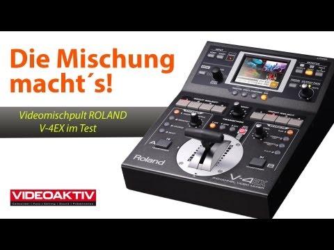 Videovorstellung: ROLAND V-4EX: Videomischer für Livestreams