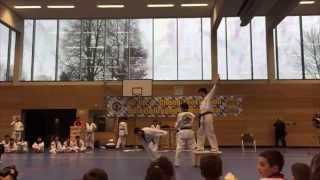 preview picture of video '20. internationaler U-Chong Taekwon-Do Osterlehrgang 2015'
