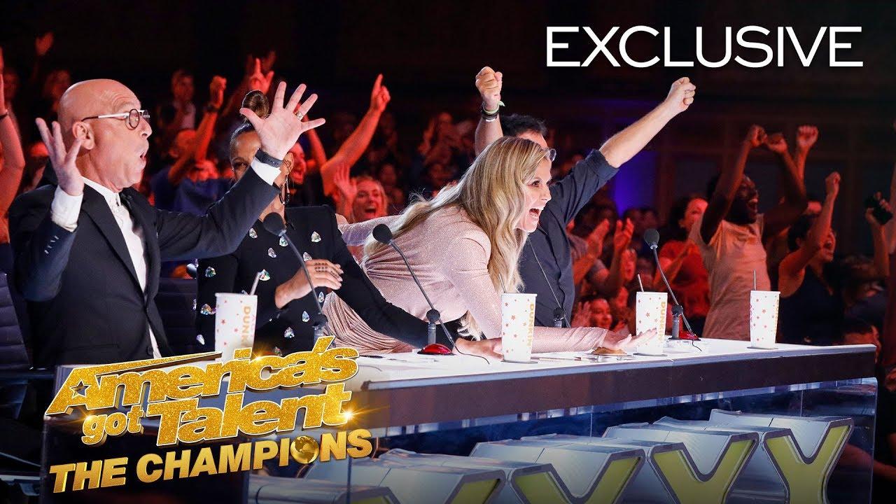 Heidi Klum Tells Us Why She Thinks Her Golden Buzzer Will WIN! - America's Got Talent: The Champions thumbnail