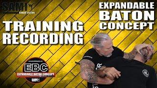 SAMICS EBC - ONLINE TRAINING -  Training Recording (Summercamp Italy) - Expandable Baton