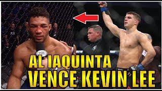 Kevin Lee x Al Iaquinta (RESULTADOS UFC MILWAUKEE)