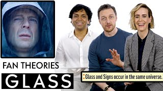 Glass Fan Theories With James McAvoy, M. Night Shyamalan & Sarah Paulson | Vanity Fair