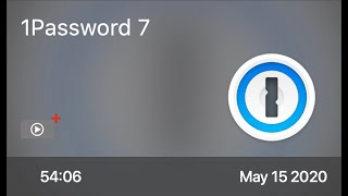 SCOM0943 - 1Password 7 Update - Preview of Free Video