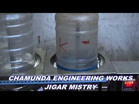 Semi Automatic Jar Washing Filling Capping Machine