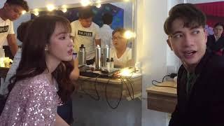 GIỌNG ẢI GIỌNG AI MÙA 3 || Jang Mi và ST song ca TÌNH TỨ trong hậu trường