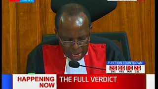 Justice Ojwang': Such transmission of wrong images did not affect the election results