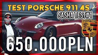 PORSCHE 911 TARGA 4S   SASHA TEST #1